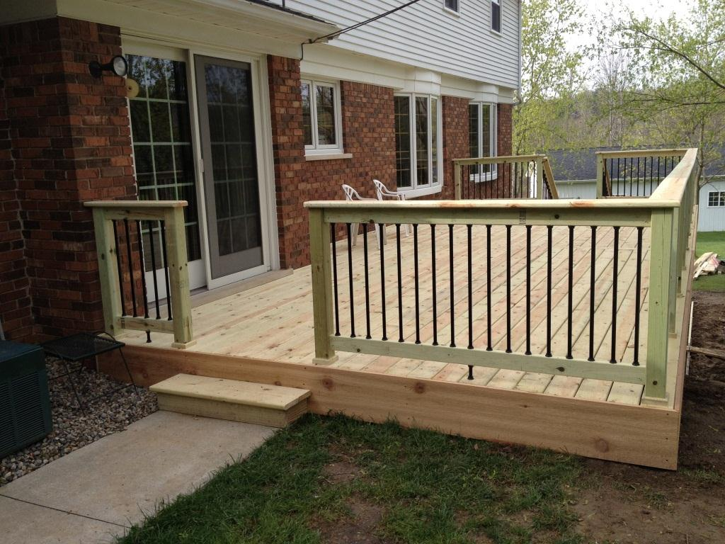 Pressure treated decking san diego deck builders for Brown treated deck boards