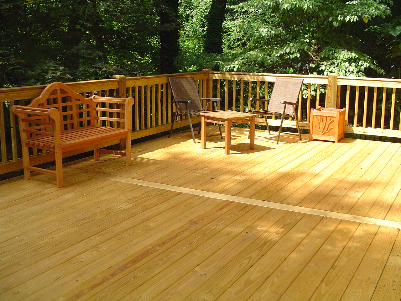 pressure treated decking san diego deck builders